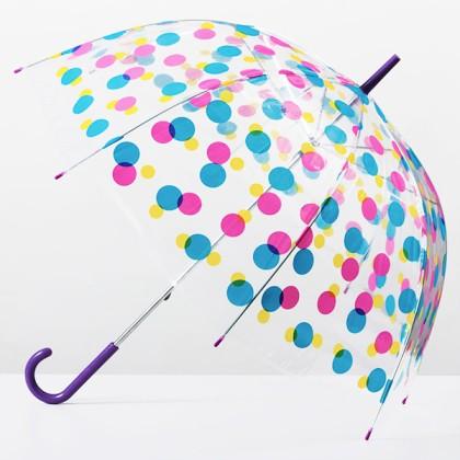 Umbrelă Balon Multicoloră