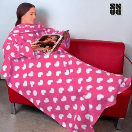 Pătură Cu Mâneci Adulți Extra Pufoasă Snug Snug | Modele Originale
