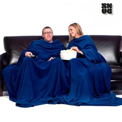 Pătură Dublă Mare cu Mâneci pentru Adulti Snug Snug