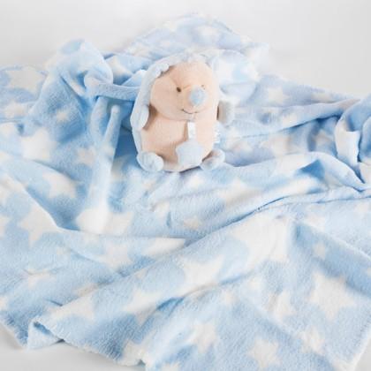 Pătura pentru Bebeluși cu Animăluț de Pluș