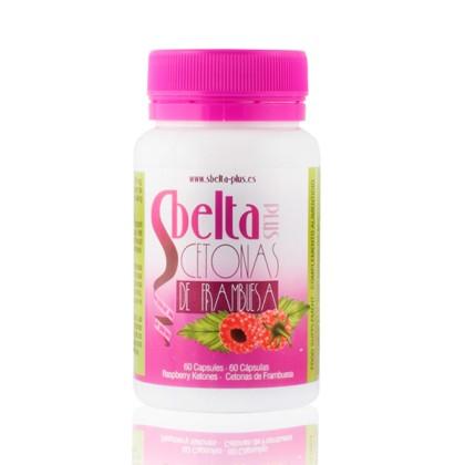 Supliment Alimentar cu Cetone de Zmeură Sbelta Plus (60 capsule)