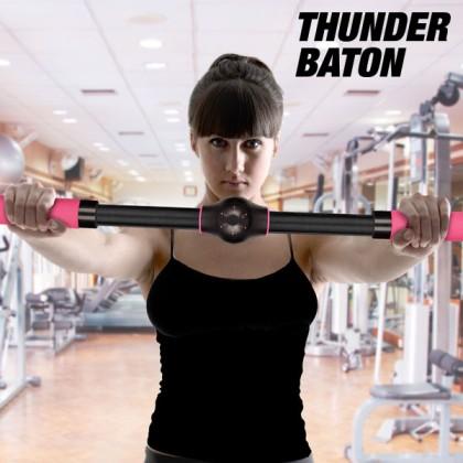 Bară de Exerciții pentru Ridicarea Sânilor Thunder Baton