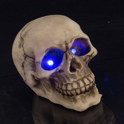 Craniu Ornamental cu Ochii LED
