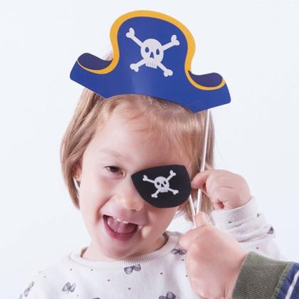 Accesorii de Pirat pentru Fotografii Haioase (pachet de 12)