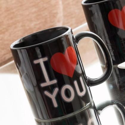 Cana Magică Neagră I Love You