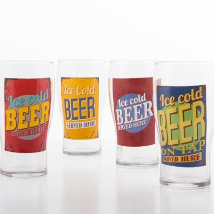 Pahar de Bere Ice Cold Beer