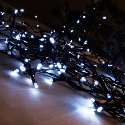 Lumini de Crăciun Albe (48 LED)