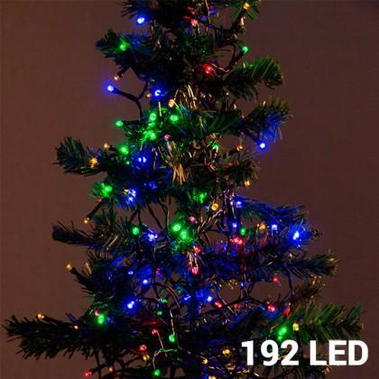 Lumini de Crăciun Multicolore (192 LED)
