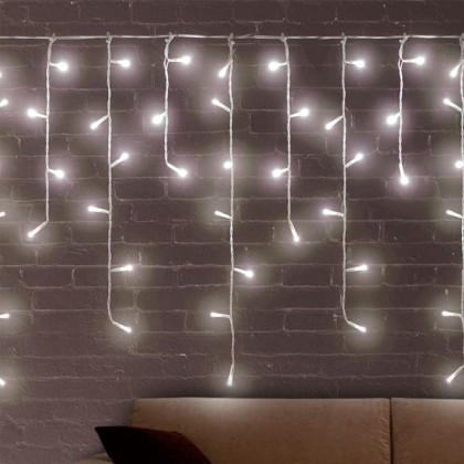 Lumini Albe de Crăciun Sloi de Gheață (200 LED)