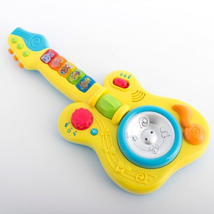 Chitară pentru copii cu lumini și sunet