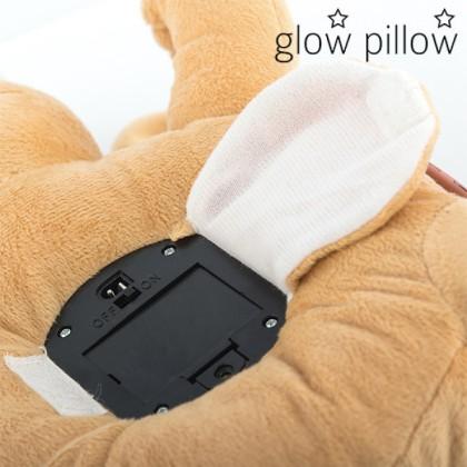Proiector LED cu Sunet Cățeluș Glow Pillow