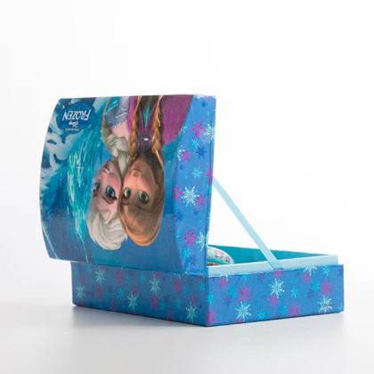 Cutie de Bijuterii XL cu Oglindă Frozen