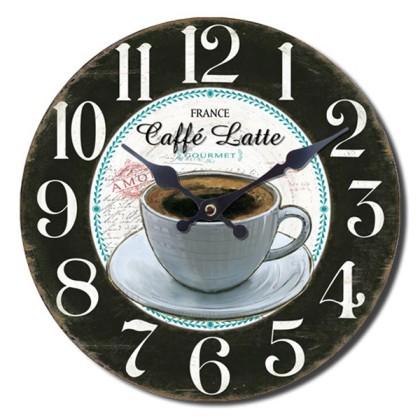 Ceas de Perete Coffee Shop