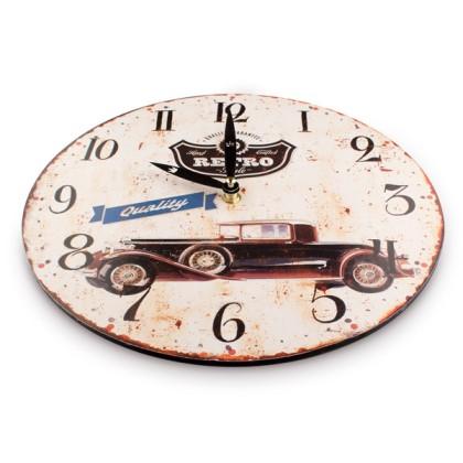 Ceas de Perete Mașină Retro
