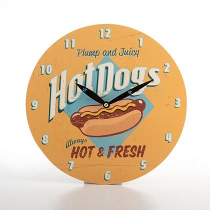 Ceas de Perete Retro Fast Food