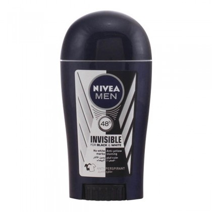 Nivea - INVISIBLE FOR BLACK & WHITE MEN deo stick 40 ml