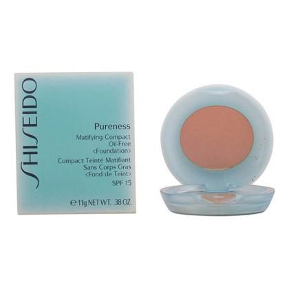 Shiseido - PURENESS matifying compact 60-natural bronze 11 gr