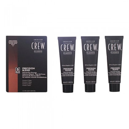American Crew - PRECISION BLEND LOTE 4-5 medium natural 3 pz