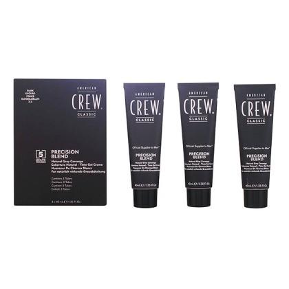 American Crew - PRECISION BLEND LOTE 2-3 dark 3 pz