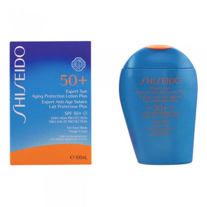 Shiseido - EXPERT SUN aging protection lotion plus SPF50+ 100 ml