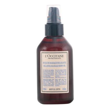 L´occitane - AROMACHOLOGY huile de massage relaxante 100 ml