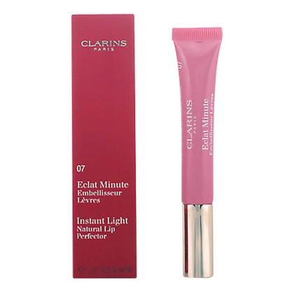 Clarins - ECLAT MINUTE embelisseur levres 07-toffee pink shimmer 12ml