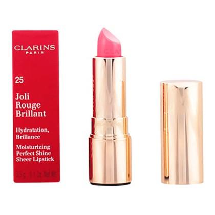 Clarins - JOLI ROUGE BRILLANT 25-bright rose 3,5 gr