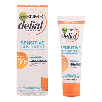 Delial - DELIAL CREMA FACIAL sensitive SPF50+ 50 ml