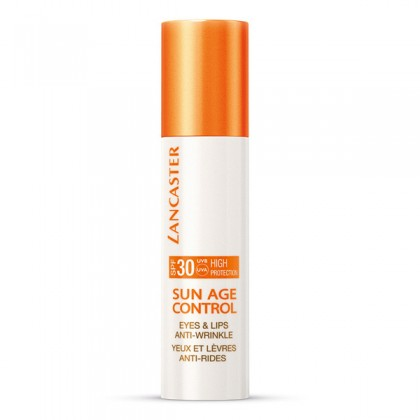 SUN AGE CONTROL eyes & lips pump bottle 15 ml