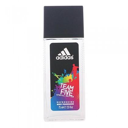 Adidas - TEAM FIVE body fragance vaporizador 75 ml