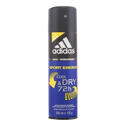 Adidas - SPORT ENERGY cool & dry deo vaporizador 200 ml