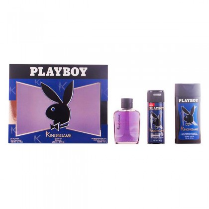 Playboy - PLAYBOY KING OF THE GAME LOTE 3 pz