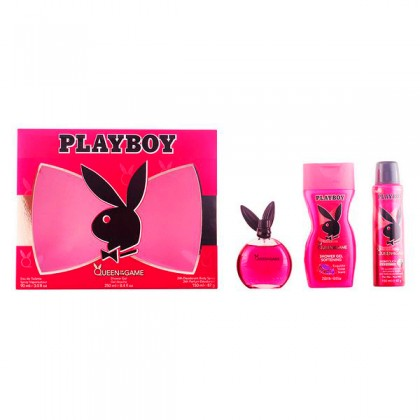 Playboy - PLAYBOY QUEEN OF THE GAME LOTE 3 pz