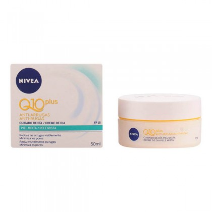 Nivea - Q10 PLUS ANTI-WRINKLE day cream SPF15 PM 50 ml