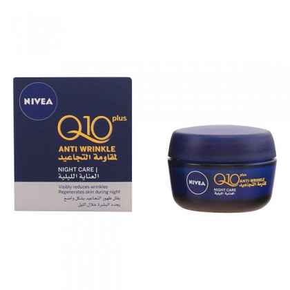Nivea - Q10 PLUS ANTI-WRINKLE night cream 50 ml