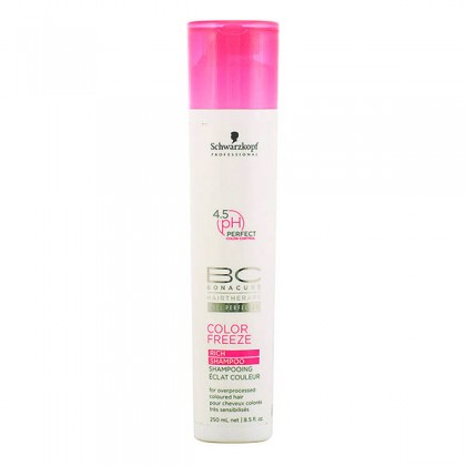 Schwarzkopf - BC COLOR FREEZE rich shampoo 250 ml