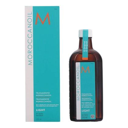 Moroccanoil - LIGHT oil treatment for fine & colored hair 200 ml