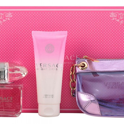 Versace - BRIGHT CRYSTAL LOTE 3 pz