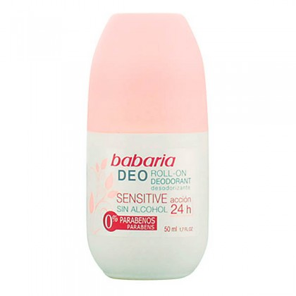 Babaria - SENSITIVE ACCIÓN deo roll-on 50 ml