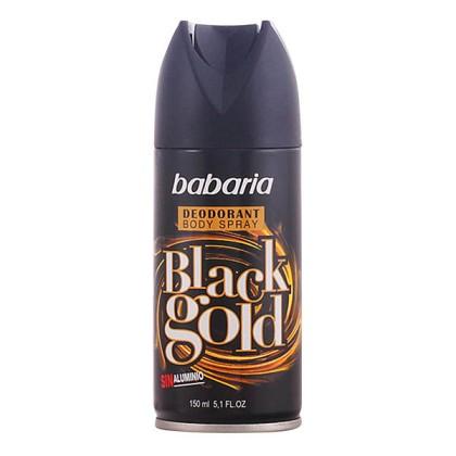 Babaria - BLACK GOLD deo vaporizador 150 ml