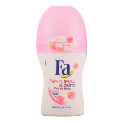 Fa - FA NATURAL& PURE ROSA deo roll-on 50 ml
