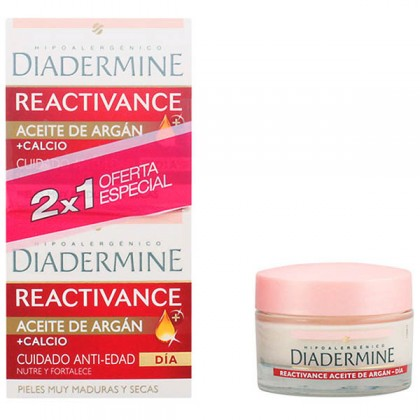 Diadermine - REACTIVANCE ACEITE ARGAN LOTE 2 pz