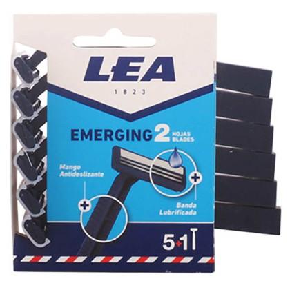 Lea - LEA EMERGING2 disposable razor LOTE 6 pz
