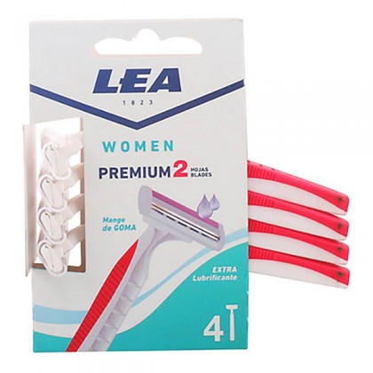 Lea - LEA WOMAN PREMIUM2 disposable razor LOTE 4 pz
