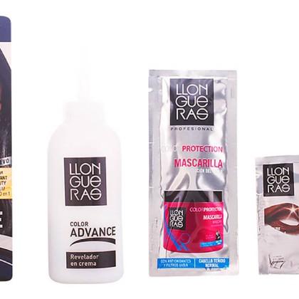 Llongueras - LLONGUERAS COLOR ADVANCE hair colour 1-natural black
