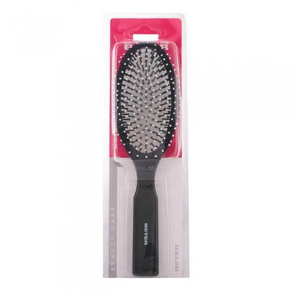 Beter - HAIR BRUSH oval cushion nylon bristles 22 cm 1 pz