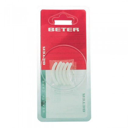 Beter - EYELASH CURLER sillicone refill pads 5 pz