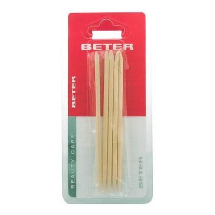 Beter - ORANGE STICKS cuticle pusher 11,5 cm 5 pz