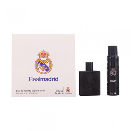 Sporting Brands - REAL MADRID BLACK SET 2 Pcs.