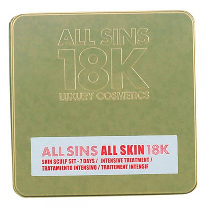 All Sins 18k - ALL SKIN SCULP 7 DAYS INTENSIVE TREATMENT LOTE 2 pz